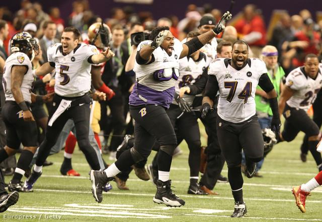 Mellékesen a Baltimore Ravens nyert