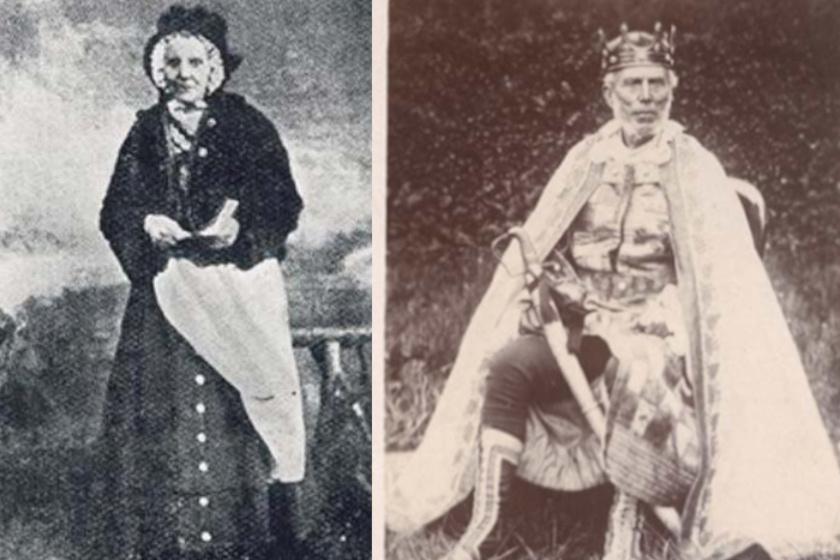 Esther Faa Blythe és fia, Charles Faa Blythe.