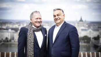 Orbán Viktor fogadta Péterffy Tamást
