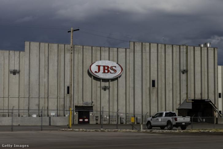 A JBS üzeme a coloradói Greeley-ben 2021. június 1-jén
