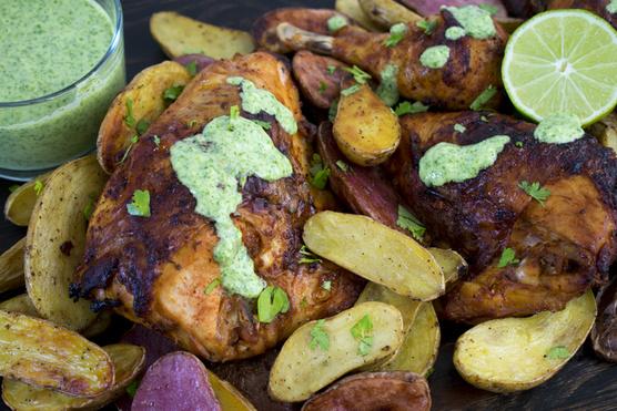 A forró hús mellett a legfinomabb a zöld szósz.