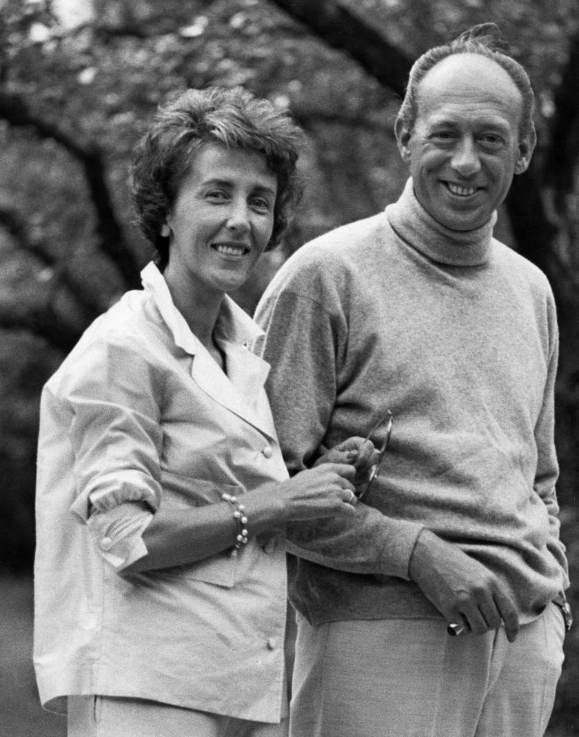 1969-ben született ez a kép Horst Tappertről és Ursuláról. A tekintetük elárulja, mennyire szerették egymást.