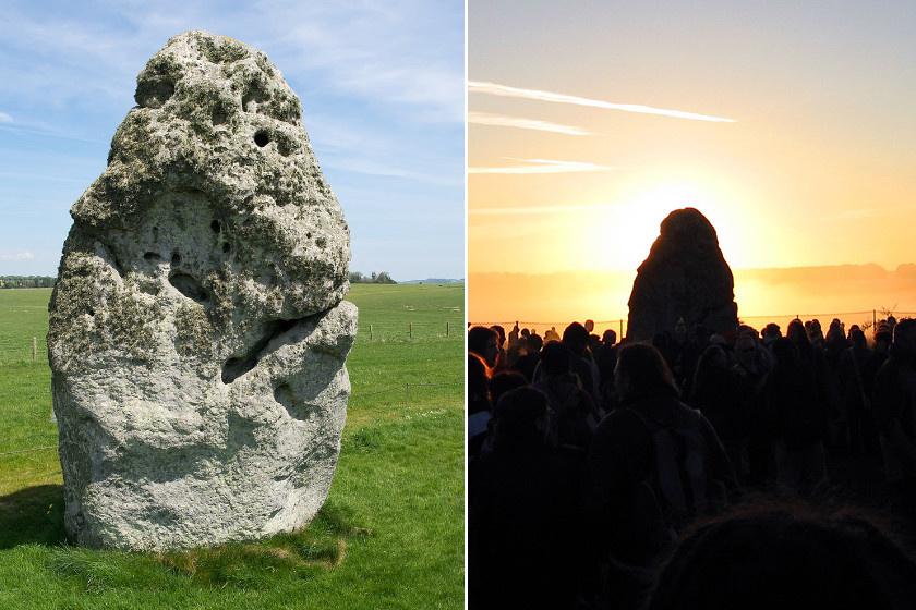 Azt, hogy milyen célt szolgálhatott a Stonehenge, sokféleképpen magyarázzák. Van, aki szerint naptár, mások szerint rituális helyszín lehetett. Talán minden verzió igaz egy kicsit. Ha ugyanis az egykor különösen fontos időpontnak számító nyári napfordulókor északkelet felé nézünk a kör közepén állva, akkor a nap éppen az úgynevezett Sarokkő vagy Napkő mögött megy le. A fontos szerepet betöltő kő 4,9 méter magas.