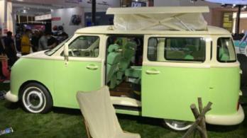 Gyártásba megy a furcsa kínai VW kisbusz-utánérzés
