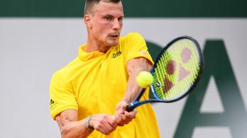 Fucsovics kiesett a Roland Garroson