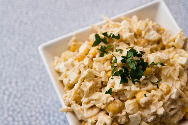 Mozzarellával, főtt burgonyával teheted még gazdagabbá.