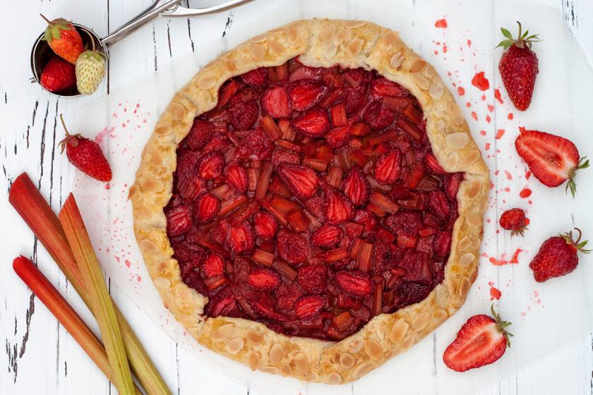 Mennyei epres, rebarbarás galette: a franciák kedvenc pitéje