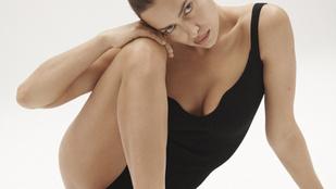 Irina Shayk civilben is viseli az új, szexi kampányában hirdetett slágerszínt