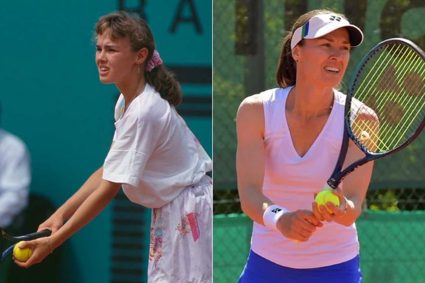 1993-ban a Roland Garros bajnokságon, és 2021 júniusában. Martina Hingis a mai napig nem pihenteti a teniszütőket.