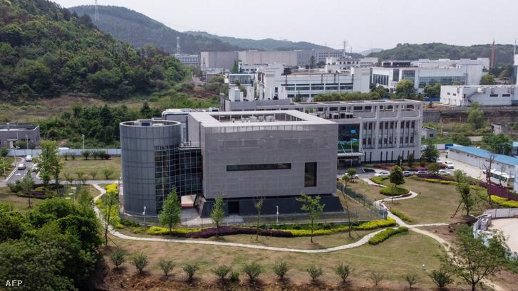 A Virológiai Intézet Vuhanban