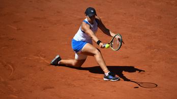 A világelső feladta a meccsét a Roland Garroson