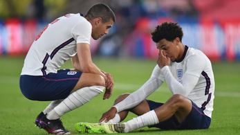 Megsérült az angolok reménysége, kihagyja az Eb-t