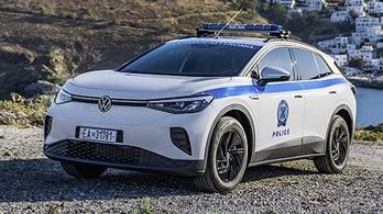 Megérkezett az első VW a görög villanyautó-szigetre