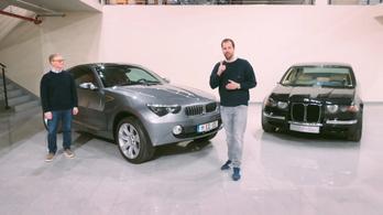 Másfél titkos prototípust mutatott a BMW