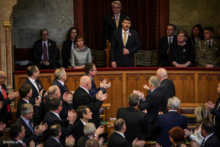 Áder Jánost újraválasztották köztársasági elnöknek 2017. március 13-án