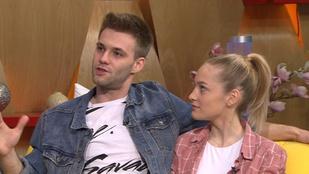 Összejött a Barátok közt két színésze: Truckenbrod Fanni és Gombos Krisztián a kapcsolatukról beszélt