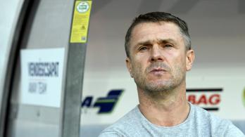 Ennyi volt, Szerhij Rebrov távozik a Ferencvárostól