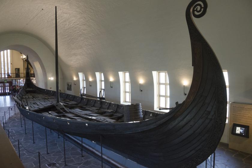 Az Oseberg-hajó.
