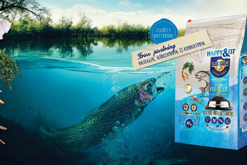 HF Superior PR kepek trout