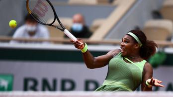 Roland Garros: Serena Williams és Medvegyev is nyolcaddöntőbe jutott