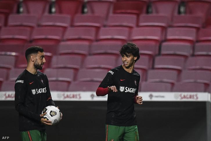 Bruno Fernandes és Joao Felix teljesítménye meghatározhatja a portugál válogatott Eb-szereplését