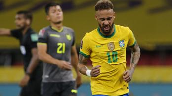 Ötből öt: a brazilok legyőzték Ecuadort is