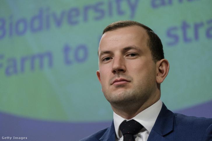 Virginijus Sinkevičius, az Európai Bizottság környezetvédelemért felelős biztosa