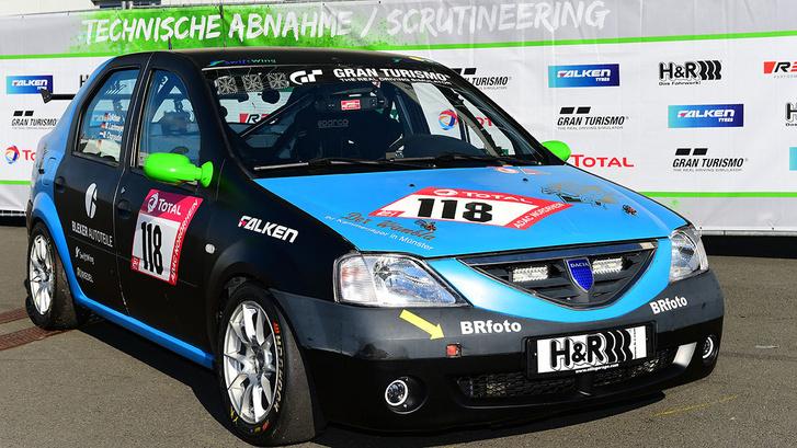 Igen, a Nürburgring 24H-n egy Dacia is indul