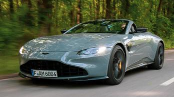 Teszt: Aston Martin Vantage Roadster