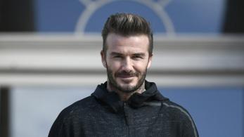 David Beckham is lát fantáziát az elektromos autókban