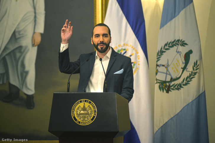 Nayib Bukele salvadori államfő