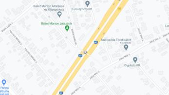 Tíz napra lezárnak az M7-esen egy sávot Törökbálintnál