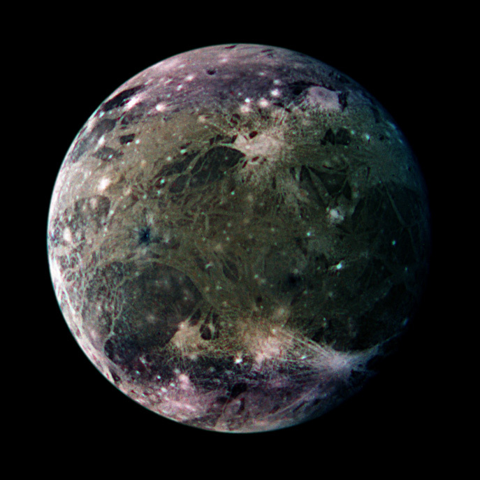 A Galilei fotója a Ganymedesről