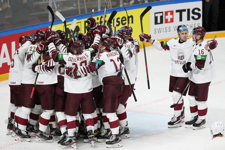 Lettország gólt sem kapott a későbbi világbajnoktól