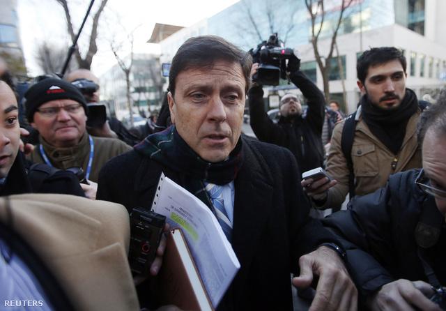 Eufemiano Fuentes a madridi bíróságnál