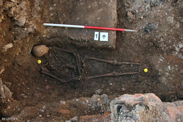 III. Richárd csontváza