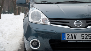 Megvolt: Nissan Note 1.4 i-way - 2013