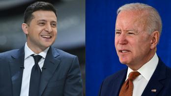 Joe Biden meghívta az ukrán elnököt, elég sok mondanivalójuk lehet egymásnak