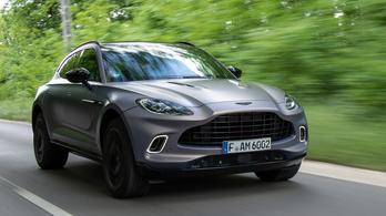 Teszt: Aston Martin DBX – 2021.
