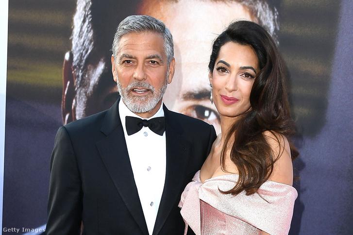 George Clooey és felesége, Amal