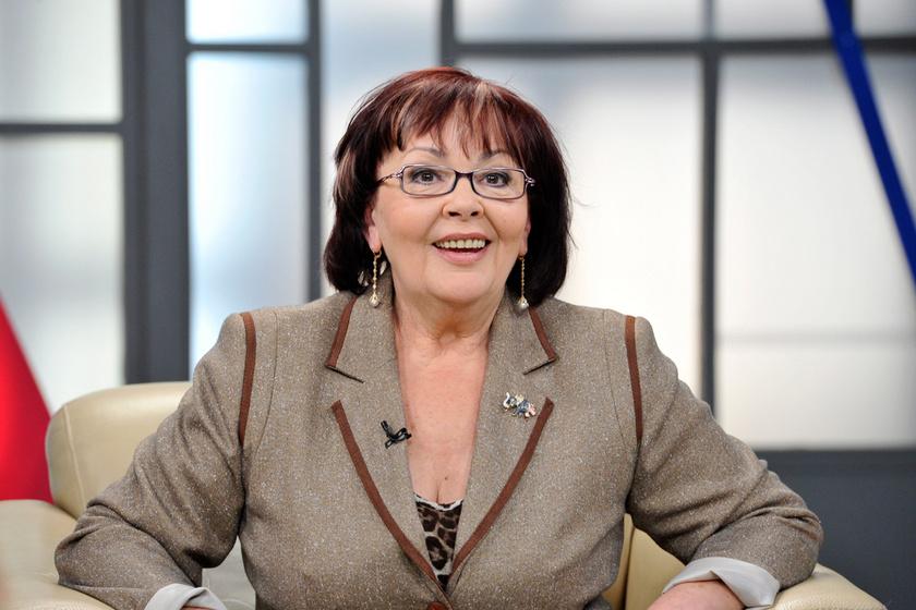 Urbán Erika a Hogy volt!? című tévéműsor felvételén 2013. szeptember 18-án.