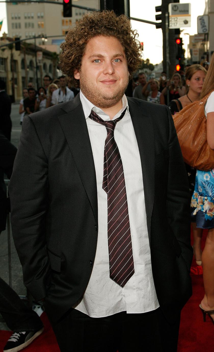 Jonah Hill így festett 2007-ben a Superbad című film premierjén fogyása előtt.