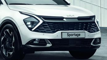 Itt látható a szép(?) új Kia Sportage