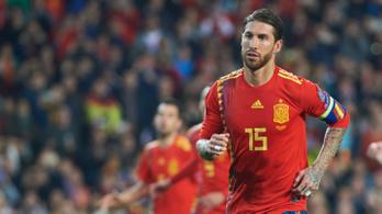 Sergio Ramos beénekli magát a poptörténelembe