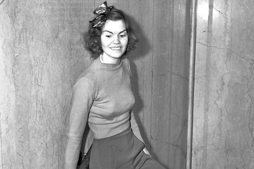 Tanúskodni ment a bíróságra, de nadrágja miatt őt is elítélték: 5 napot ült börtönben Helen Hulick 1938-ban