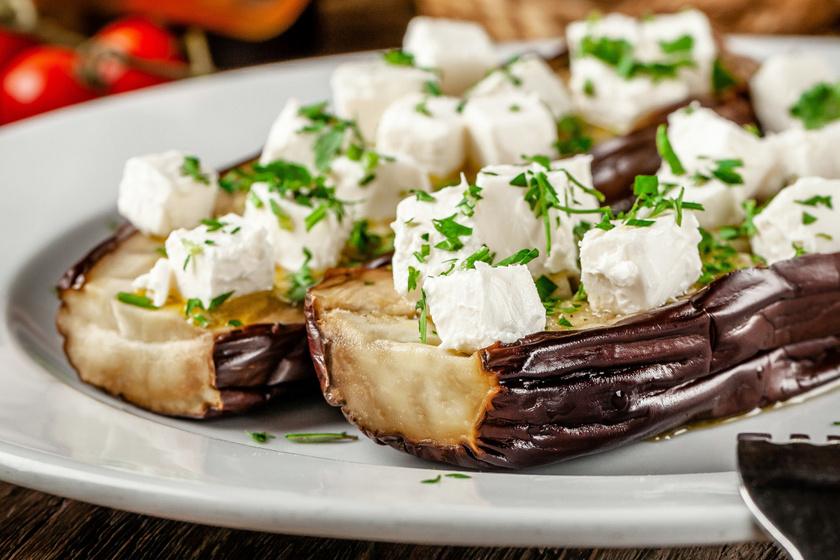 Villámgyors grillezett padlizsán feta sajttal - Húsok mellé, de salátával is tökéletes