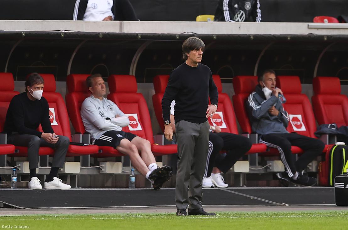 Joachim Löw 2021. június 7-én Düsseldorfban, Németországban