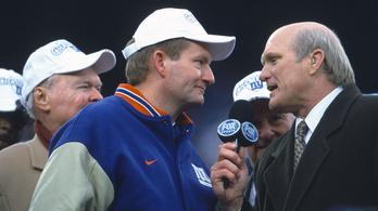 Meghalt a Giants-et a Super Bowlba juttató edző