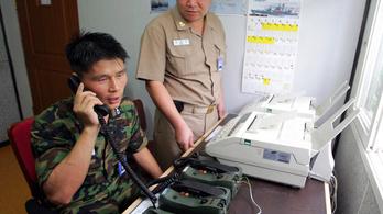 Kimeríti a telefonos zaklatás fogalmát, amit Dél-Korea csinál Észak-Koreával