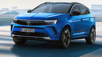 Itt a friss arcú Opel Grandland